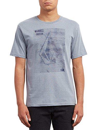 Manches Line Ss T Arctic Courtes shirt Blue Homme Volcom Tone Hth T aqpwq0Z