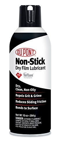 DuPont Teflon Non-Stick Dry-Film Lubricant Aerosol Spray, 10 Oz. (Best Lube For Car Door Hinges)
