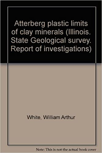 Atterberg Plastic Limits Of Clay Minerals Illinois State - Illinois state geological survey