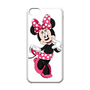 iPhone 5c Cell Phone Case White Disney Mickey Mouse Minnie Mouse lzou