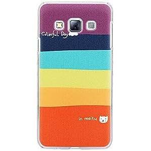 GX Teléfono Móvil Samsung - Cobertor Posterior - Dibujos Animados - para Samsung Galaxia A3 ( Multi-color , Plástico )