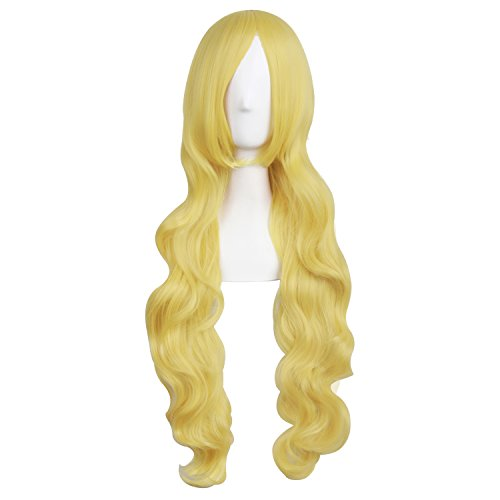 MapofBeauty 32 Inches/80cm Long Hair Spiral Curly Cosplay Costume Wig -