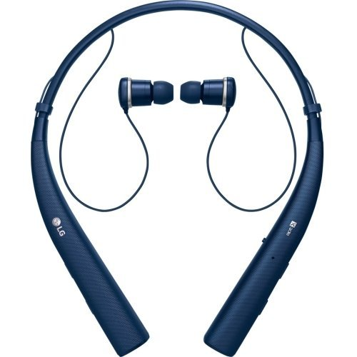 LG HBS-780 Tone Pro Wireless Bluetooth Stereo Headset Blue (Certified Refurbished)