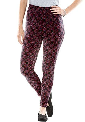 Stretch Velour Pants - 6