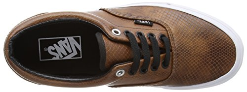 Unisex Era Brown Snake Zapatilla Black Marrón Brown Adulto Baja Vans dtvfxqwYv