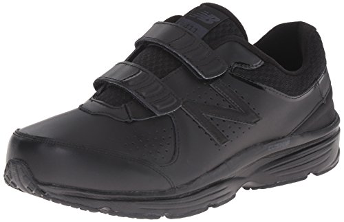 (New Balance Men's MW411HK2 Walking Shoe, Black/Black, 8.5 D US)
