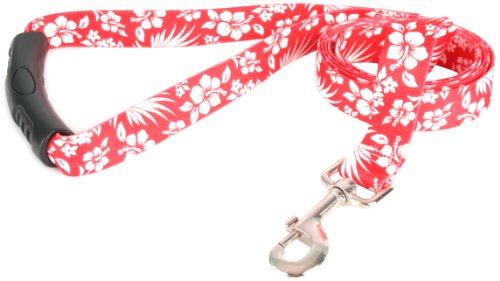 Yellow Dog Design EZ-Grip Lead, 1-Inch by 60-Inch, Aloha - Pet Lead Aloha