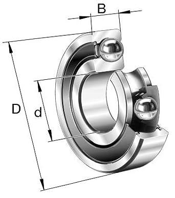 Rodamiento de bolas (marco de ruedas de dirección de bicicleta ...