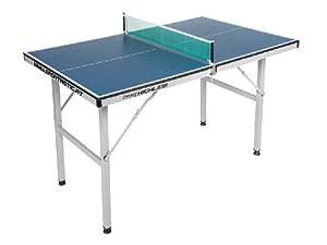 Mini Tischtennistisch - zusammenklappbarer Tisch, für Wohn- und Kinderzimmer...