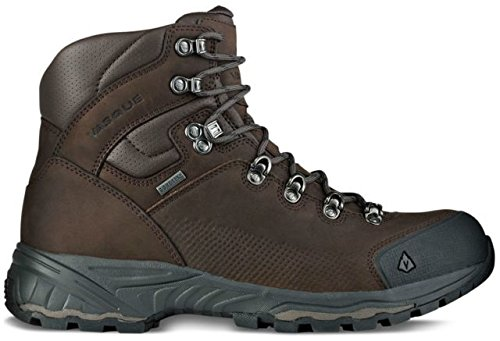 Waterproof Boots Gore Hiking (Vasque Men's St. Elias Gore-Tex Backpacking Boot, Slate Brown/Beluga,11 W US)