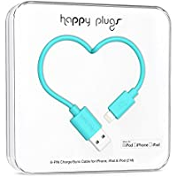 Happy Plugs Data Cable for iPhone 5/5s/5c/6/6 Plus, iPad mini/2/3 - Retail Packaging - Turquoise