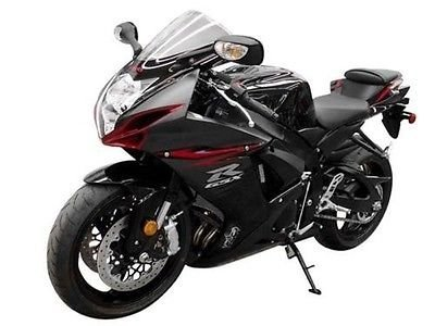 Amazon com: Matte Black w/Red Fairing Injection Kit for 2011-2016