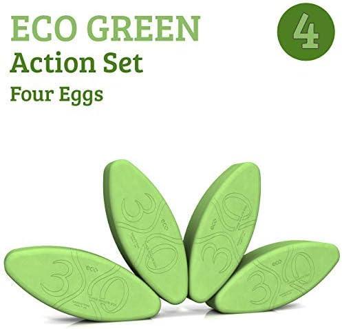 Three Minute Egg® Yoga Blocks Packs of 1 to 6 Yoga Eggs - Made in USA