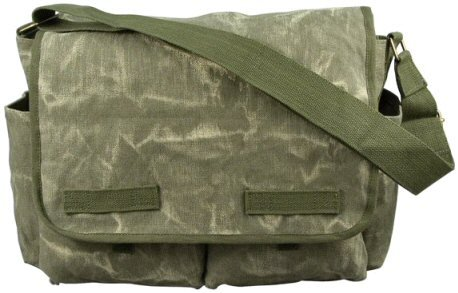 Rothco Classic Heavyweight Canvas Messenger Bag - 6
