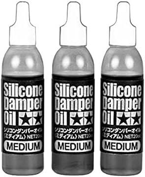 Tamiya 300053444–Silicona dämpferöl Juego Medio 500/600/700