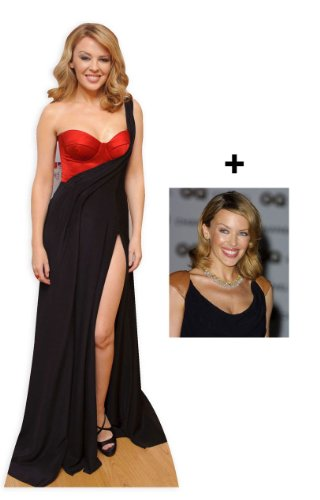 - FAN PACK - KYLIE MINOGUE LIFESIZE CARDBOARD CUTOUT (STANDEE / STANDUP) - INCLUDES 8X10 (25X20CM) STAR PHOTO - FAN PACK #242
