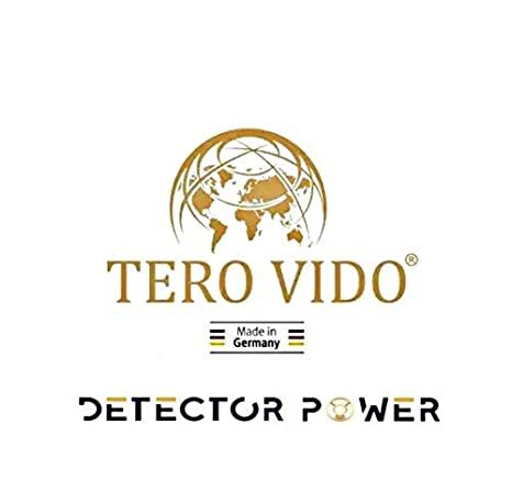 Amazon.com : TERO VIDO Basic Version 3D System Metal Detector - Professional Deep Seeking Detector | Underground Depth Scanner | Gold, Silver, Coins, ...