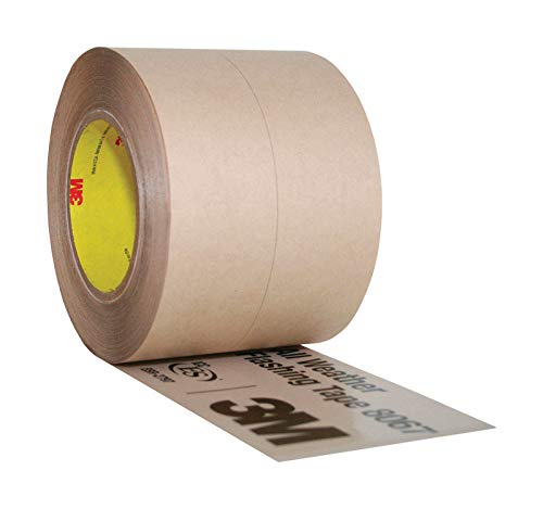 3M 8067 All Weather Flashing Tape, 9'' Width, 75 feet Length, Tan by 3M (Image #1)