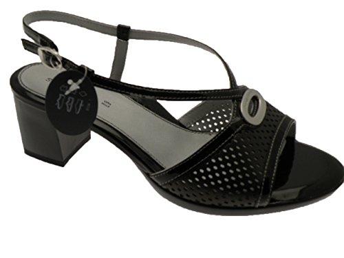 Stonefly Heel 40 Sandals New Ladies Shoes Black We8tYNbYvx