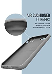 Silk iPhone 7 Grip Case - Base Grip for iPhone 7 [Slim Fit Lightweight Protective No-Slip Cover] - Gunmetal Gray