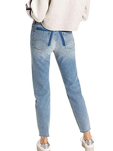 Tommy Blue Mujeres Jeans Hilfiger Light DW0DW04167 Rigid XxqrX68n