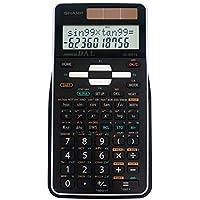 Sharp EL-506TSBBW Engineering/Scientific Calculator, Black