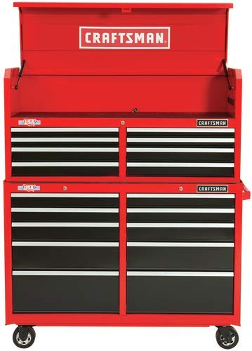 ".com: craftsman cmst82776rb heavy duty 18 drawer 52"" ball ..."