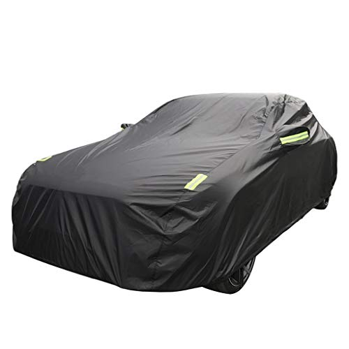 Car Covers Compatible with BMW 5 Series GT Car Cover Car Clothing Sunscreen Rain Oxford Cloth Plus Velvet Cover Size : Single Layer