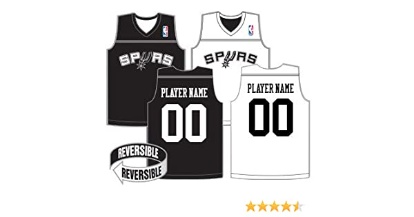 3057f88fbab NBA Reversible Jerseys (CUSTOM or Blank Back) Officially Licensed Alleson  Replicas (All 30 NBA Teams, 7 Youth/Adult Sizes), Sports Apparel - Amazon  Canada
