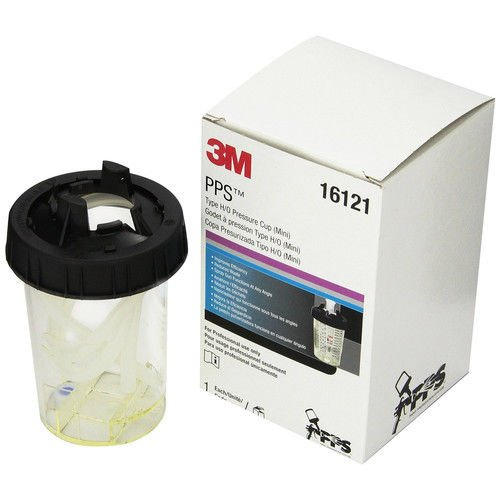 3M PPS Type H/O Mini Pressure Cup, 6 ounce 16121 new ;#G344T3486G 34BG82G372157