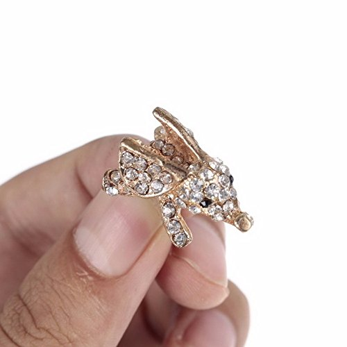 Gadgets - Dt Plugs For Cell Phones Cute Charms Phone Plug Ear Earphones Stopper Anti Charm - 3.5mm Charms Cute Crystal Diamond Bling Gold Sliver Elephant Phone Earphone Audio Dt Plug - - 1pcs