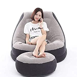 SHLYXY Lazy sofá Inflable Silla Inflable sofá Inflable ...