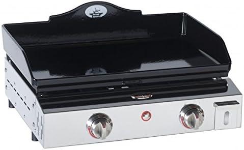 Forge Adour PRESTIGE600V2 - plancha de gas, acero inoxidable, 60 x 48 x 27 cm