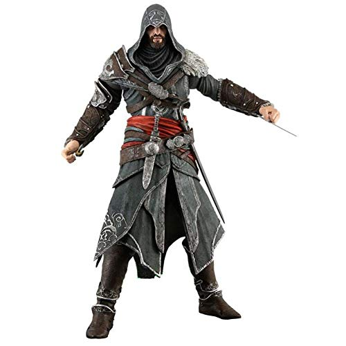 DUDDP Anime Character Anime Toy Assassin's Creed 3 Ezio Movable Cartoon Character Art Gift Model Character Toy 20cm Anime -