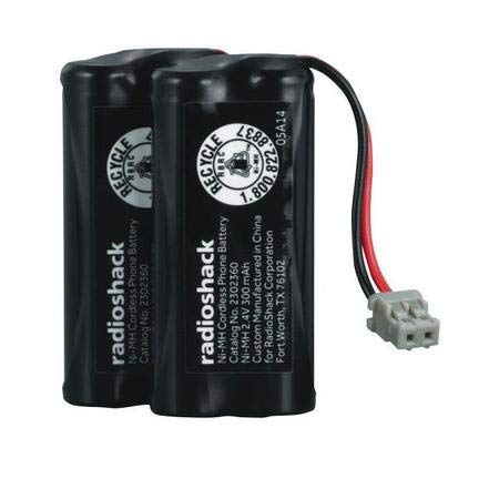 RadioShack/Enercell Rechargeable Cordless Phone Battery - Catalog No. 2302360 (2-Pack)