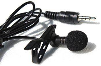 Ultra sensible omni-direccional condensador 3,5 mm para micrófono de solapa carcasa rígida Lavalier micrófono de condensador para Smartphone iPhone iPad iPod: Amazon.es: Electrónica
