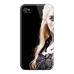 For STWanke Iphone Protective Case, High Quality For Iphone 4/4s Emilia Clarke As Dany Skin Case Cover