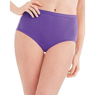 Hanes Women's 6 Pack Core Cotton Brief Panty-Neutrals