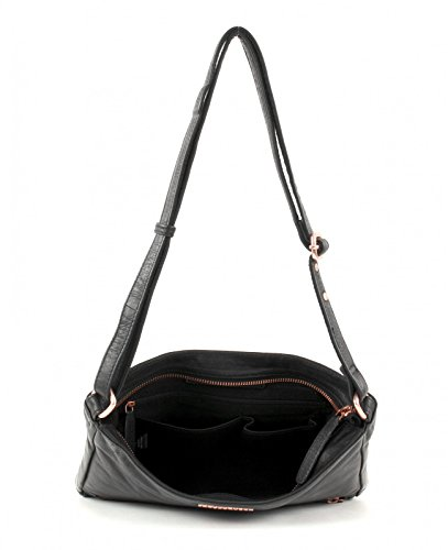 FREDsBRUDER Signature Crossbody Bag Black/Rose Gold