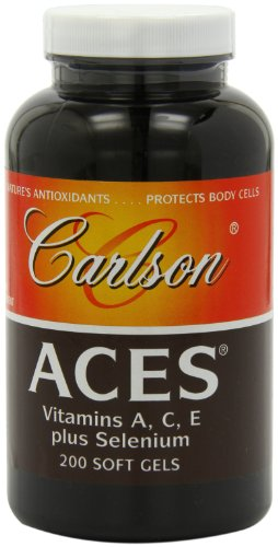 Carlson Aces Antioxidant Formula Softgels