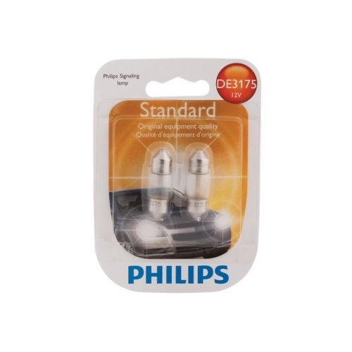 Price comparison product image Philips DE3175 FESTOON 12V LIGHT BULBS,  Pack of 2