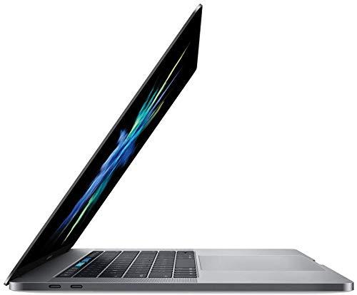 """Apple MacBook Pro MPTT2LL/A - 15"""" Retina, Touch Bar, 3.1GHz Intel Core i7 Quad Core, 16GB RAM, 1TB SSD - Space Gray (Renewed)"""