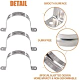 Pipe Strap 60MM Hole Strap,304 Stainless Steel Two