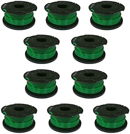Auto Feed String Trimmer Spool Line Replacement for SF-080 Black /& Decker 6-Pack