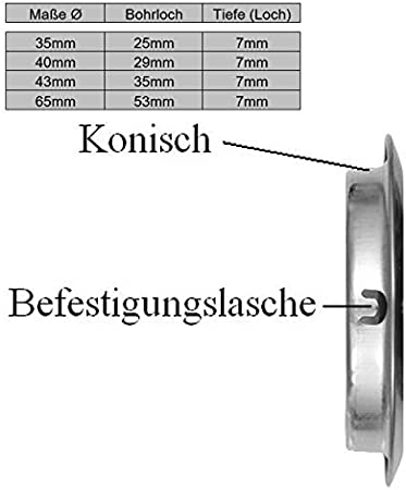 10x Edelstahl L/üftungsgitter Bel/üftungsgitter Terrarium L/üftung Gitter rund