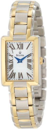Bulova Women s 98L157 Two-Tone Bracelet Watch
