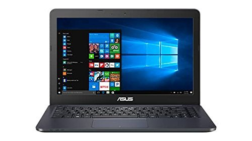 Asus 14 inch FHD (1920 x 1080) Portable Laptop, Intel Dual-Core Processor up to 2.48GHz, 4GB RAM, 32GB eMMC, HDMI, VGA, Webcam, Bluetooth, WiFi, Windows 10