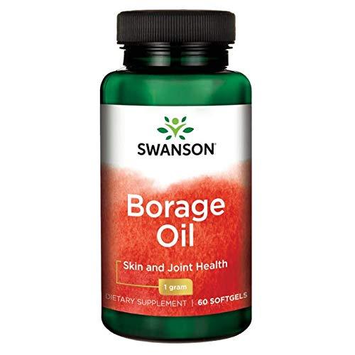 Swanson Borage Oil Gla (Omegatru) 1000 Milligrams 60 Sgels Review