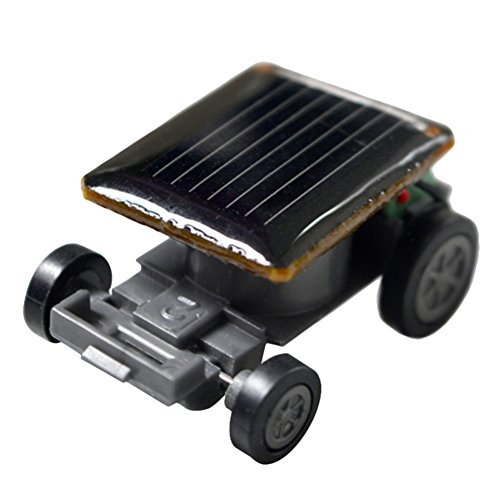 Gracefulvara Mini Solar Powered Racing Car Vehicle Educational Gadget Kids Gift Toy