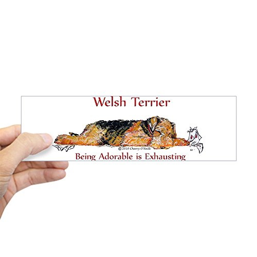 CafePress Exhausted Welsh Terrier 10
